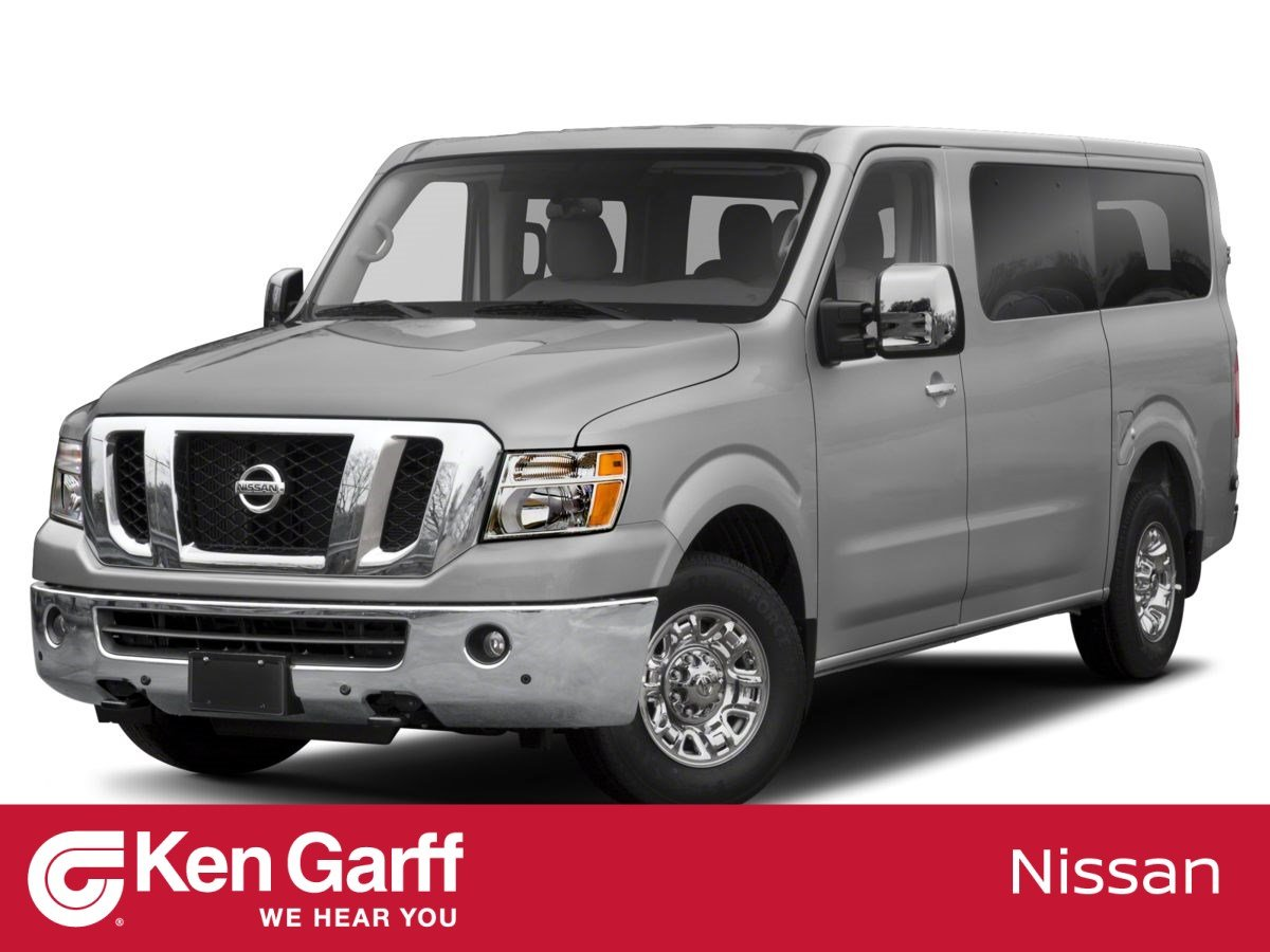 New 2020 Nissan NV Passenger NV3500 HD SL