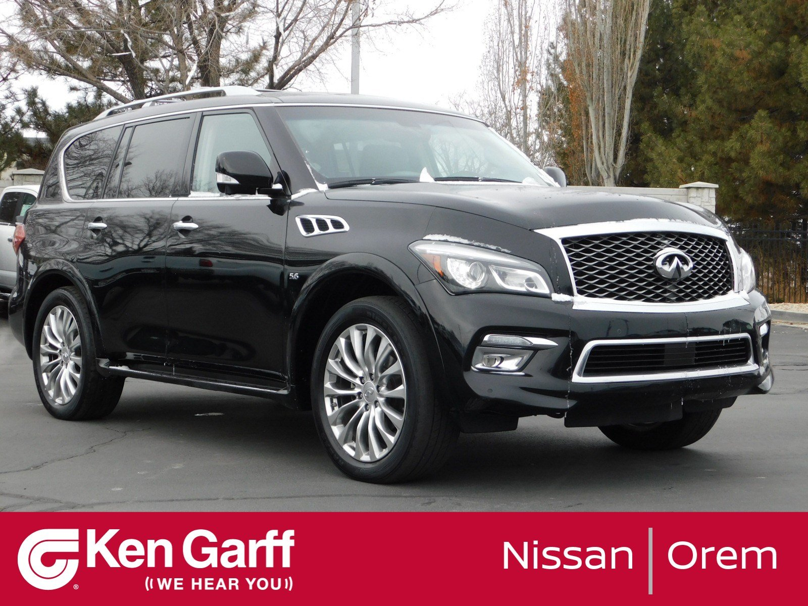 Pre-Owned 2015 INFINITI QX80 4WD 4DR LIMITED